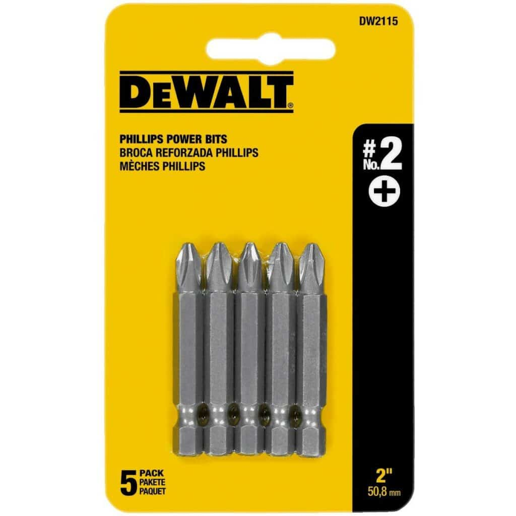 Best Slotted/Phillips Impact Driver Bits