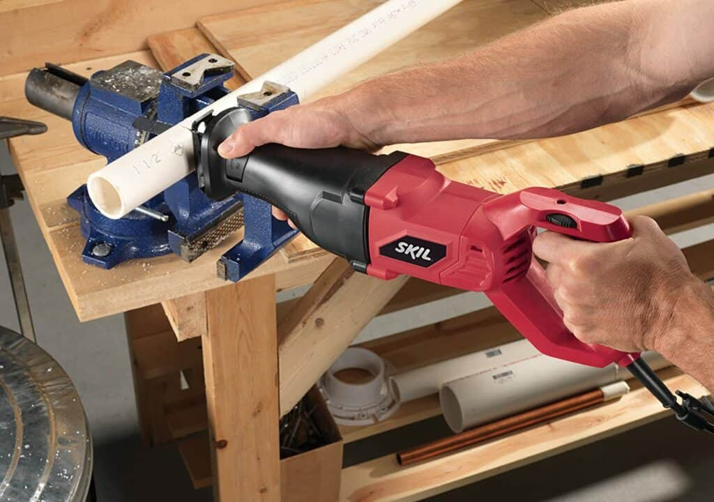 Cutting PVC with a Reciprocating Saw