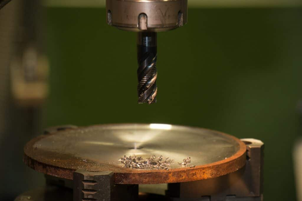 How to Drill through Metal